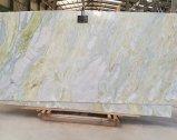 부엌을%s 비취 백색 대리석 석판 또는 목욕탕 또는 벽 또는 지면