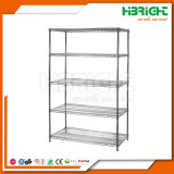 Knock Down DIY Chromed Wire Mesh Rack