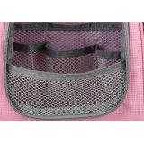 Form-rosafarbener Mädchen-Wäsche-Frauen-kundenspezifischer Arbeitsweg-hängender Toilettenartikel-Beutel