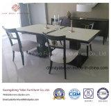 Überlegene Gaststätte-Möbel eingestellt mit hölzernem Tisch und Stuhl (7891)