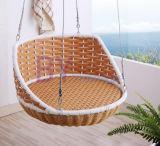 옥외 발코니 침실 등나무 그네 의자 거는 바구니 흔들 의자