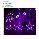 별 모양 138 LED 12 끈 220V 크리스마스 불빛