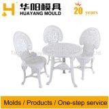 Mobilier de loisirs en plastique Président et de table du moule (HY082)