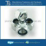 Ventes en nylon de dans-Action d'écrou de blocage de la garniture intérieure DIN982