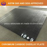 6+6 Chrom-Karbid-Platten-Verschleißfestigkeit-Stahlblech
