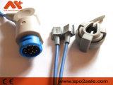 Mindray Pm6000 (Masimoのモジュール) SpO2センサー、10FT
