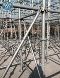 강한 구조 건축을%s 국제 기준 Ringlock Scaffolidng 윤이 나는 시스템