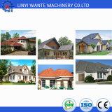 多様で、多彩な建築材料の石の上塗を施してある屋根瓦