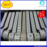 Escritura de la etiqueta auta-adhesivo de papel de la marca registrada