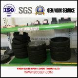 Neumáticos de goma con la rueda plástica