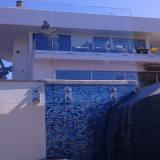 Prezzo di vetro m2 di disegno dell'inferriata del balcone di vetro Tempered di Frameless in Doubai