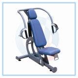 ボディービル装置または体操の装置または練習機械か回転式胴の重量の駅