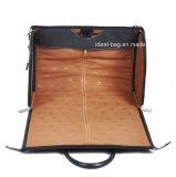 Venda a quente de alta qualidade 17 Polegadas vestido de viagens de negócios em pele de Nylon bag bolsa de viagem Suit Bag Multifunções