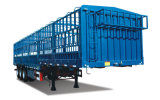 3 EIXOS 50 toneladas o transporte de animais animais com tenda Crossgirders do Reboque