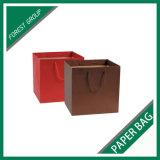 El fabricante modificó la bolsa de papel para requisitos particulares con la maneta de lujo