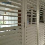 Justierbare hölzerne Luftschlitzejalousie-Fenster-Tür