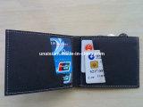 Pochette lavable de circuit de détenteur de carte de papier d'emballage pour des femmes des hommes