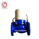 Válvula eléctrica del arrabio para el contador del agua grande del pulso del calibre Dn50-Dn300