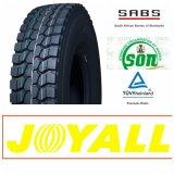 11r20 12r20 Joyall Marken-Qualitäts-Radialochse-LKW-Gummireifen Withccc