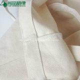 こつのループが付いている有機性自然なFoldable綿のキャンバスのショッピング・バッグ
