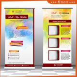 2017 Nouvelle conception de la Chine fournisseur Forme de l Roll up Stand de bannière