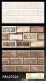 25X40磁器のタイルの最初上等の装飾的な壁のタイル