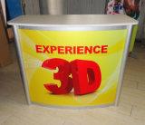 Stand en aluminium portatif de cabine d'exposition de salon de profil