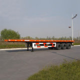 40FTの半2axle輸送容器の平面のトレーラーか半骨組トレーラー