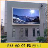 Cartel video de la visualización de LED de la difusión del anuncio al aire libre
