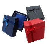도매 호화스러운 초 포장 백색 선물 상자 관례 로고