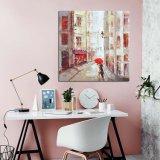 Les amoureux de la rue chiffre impressionnant de peintures sur toile