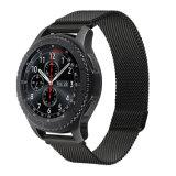 Faixa de relógio de aço inoxidável de luxo para engrenagem Samsung S3 a banda de aço