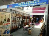 26 Zoll-Beschaffenheit-Glanz-Farbe alle festen dargestellten Ahornholz-Karosserieukulele-Gitarren