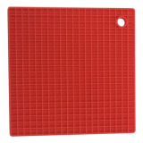 High Quality Suqare Kitchen Use Heat-Resistant Silicon Table Mat