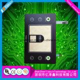 Touche à effleurement capacitive tactile de contact dôme de tout neuf en métal de Yizexin