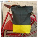 Sacos feitos sob encomenda do Pannier do lado da bicicleta da forma da fonte da fábrica com cintas de ombro