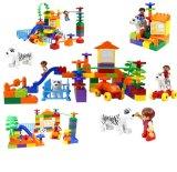 Bloc de construction de Pattern différents jouets en plastique