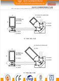 (80) 140 Utilisés mur rideau Profil en aluminium