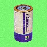 De Batterij van het mangaan (het Jasje van pvc) - r14p/c/um-2