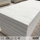 Il marmo caldo di vendita del materiale da costruzione gradice lo strato di superficie solido acrilico del reticolo della vena