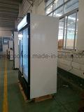 Tür-Bildschirmanzeige-Gefriermaschine der Einzeln-Temperatur Art Haagen-Dazs Eiscreme-zwei für Verkauf