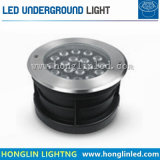 LED de exterior Inground IP65 Luz RGB LED de escada de 7 W Luz Subterrâneo