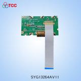 132X64 LCD van de Vertoning van het Radertje van punten Module