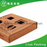 Rectángulos de empaquetado de la impresión inmóvil de Bookrack del papel acanalado