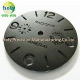 Zoll CNC-maschinell bearbeitenuhr-Teile mit Nizza Stich