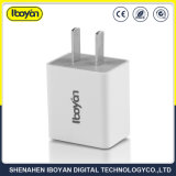 iPhone를 위한 2.1A Double Socket Quick USB Travel Mobile Phone Charger