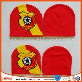 サッカーのフットボールの帽子は帽子を遊ばす