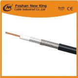 Коаксиальный кабель RG6 для CCTV CATV с проводником Cu/CCS/CCA