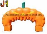 Magische Halloween-Partei-Dekoration-aufblasbarer bekanntmachender Kürbis