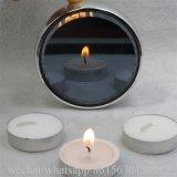 заводская цена белого цвета со сжатием 14G Tealight свечи